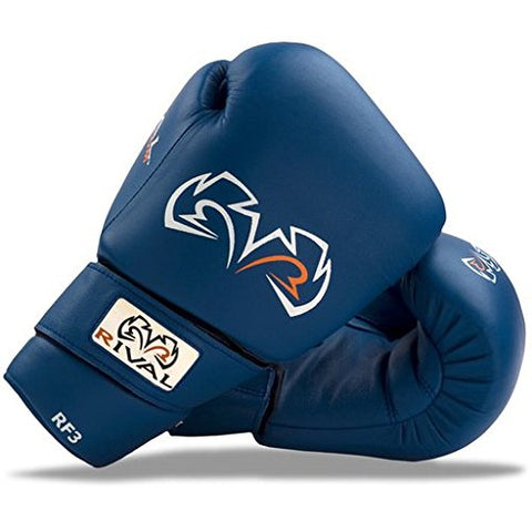 Rival Boxing-Amateur Fight Glove-RF3 (Blue, 12oz)