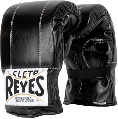 Cleto Reyes Bag Glove with Elastic Cuff - Black L
