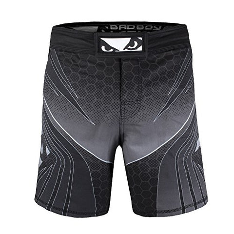 Bad Boy Men's Bad Boy Legacy Evolve Shorts, Black, Small