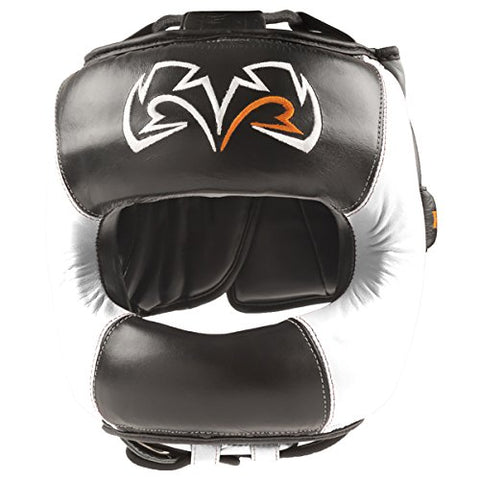 Rival Face Guard Headgear - L/XL - Black/White