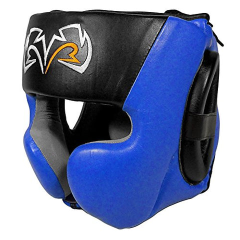 Rival Boxing Headgear-RHG30-Blue Large