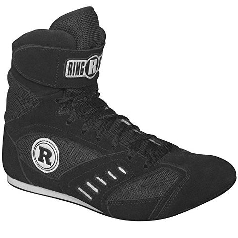 Ringside Power Boxing Shoes (Black, 11)