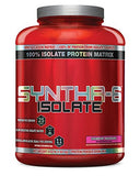 BSN SYNTHA-6 ISOLATE Protein Powder, Whey Protein Isolate, Milk Protein Isolate, Flavor:  Strawberry Milkshake, 48 servings