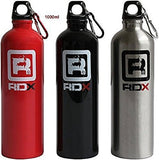 Authentic RDX Aluminium Sports Gym Bottle 1000ml / 600ml Cycling Hiking Flask Water Drink