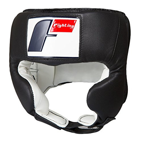 Fighting Sports USA Boxing Competition Headgear (Cheek), Black, Small