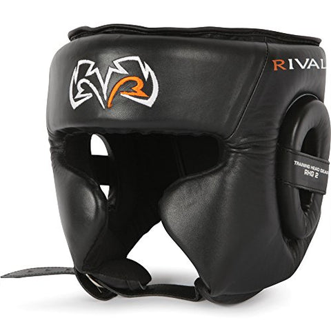 Rival Boxing Headgear-RHG2-Black Small