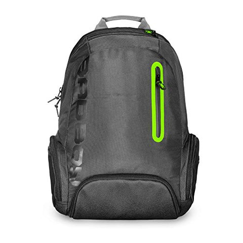 Bad Boy Urban Assault Backpack, Black/Green, One Size