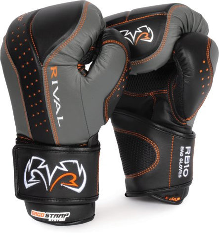 Rival d30 Intelli-Shock Bag Gloves, BK/GR, X