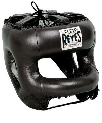 Cleto Reyes Redesigned Headgear with Nylon Face Bar (BLK)