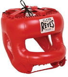 Cleto Reyes Redesigned Headgear with Rounded Nylon Face Bar Wide Space Inside - Red