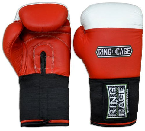 Amateur Competition Boxing Gloves (10oz, Red)