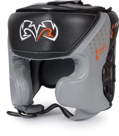 Rival d3o Intelli-Shock Pro Training Headgear, BK/GR, M