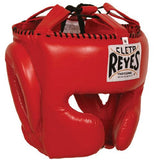 Cleto Reyes Headgear with Cheek Protection - Red M
