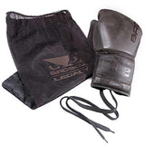Bad Boy Men's Bad Boy Legacy Lace Up Boxing Gloves Limited Edition, Tobacco Brown, 16 oz