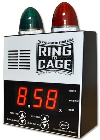 Pro Digital Timer for Muay Thai, MMA, Kickboxing, Boxing, Martial Arts