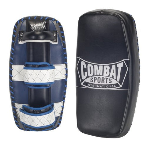 Combat Sports Contoured Muay Thai Kickboxing MMA Training Kick Punch Strike Shield Thai Pads (Pair)