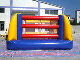Bounce Floor Boxing Ring Inflatable Affordable -Includes 1.0 HP Blower, Accessories Kit and Free Shipping
