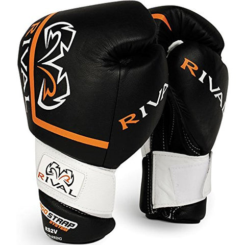Rival High Performance Pro Sparring Gloves - 18 oz - Black