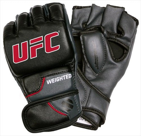 UFC Comp Weighted Gloves, Large/XLarge