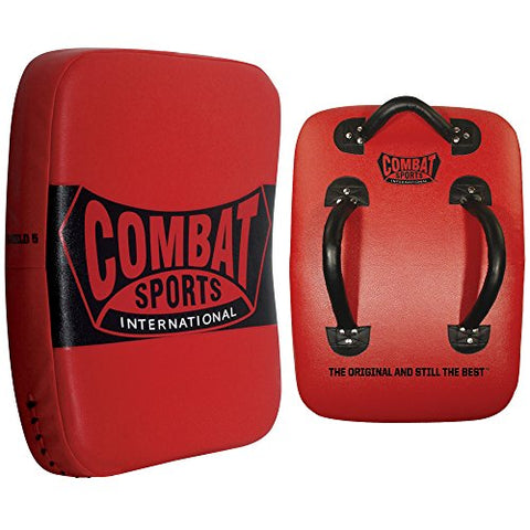 Combat Sports Kickboxing Muay Thai MMA Training Kick Punch Strike Shield Big Pad