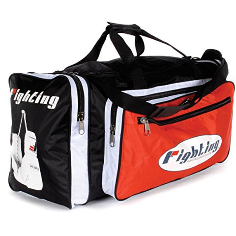 Fighting Sports World Champion Equipment Bag, Black/Red