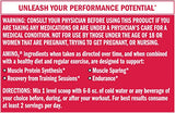 BSN Amino X Post Workout Muscle Recovery & Endurance Powder with 10 Grams of Amino Acids Per Serving