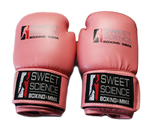 Sweet Science Boxing Kids Gloves 10oz Pink - Sweet Science Boxing - 1