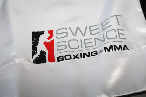 Sweet Science Boxing Comeptition Trunks - White - Sweet Science Boxing - 1