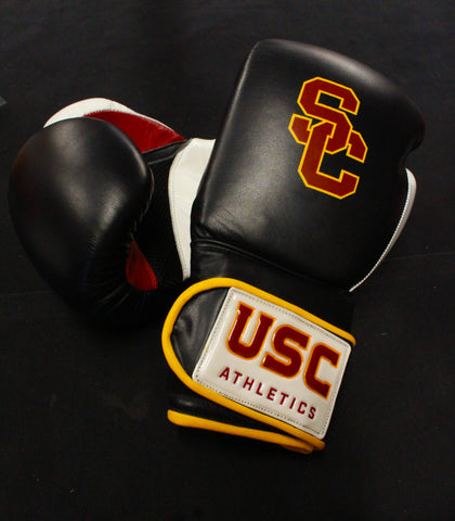 USC Boxing Gloves Black/Cardinal/Gold *Officially Licensed*