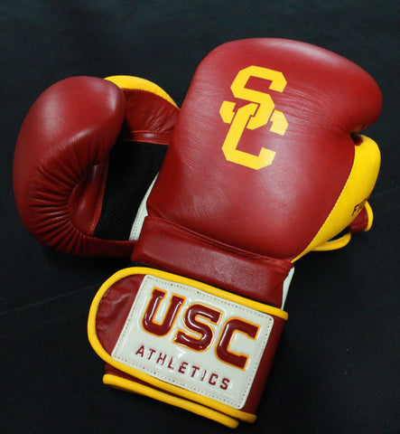 USC Boxing Gloves Cardinal and Gold *Officially Licensed*