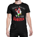 "Neeco Macias ""The Rooster""  T Shirt - Black - Sweet Science Boxing - 3"