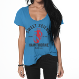 Sweet Science Womens Boxing Flowy T-Shirt: Throwback - Sweet Science Boxing - 1