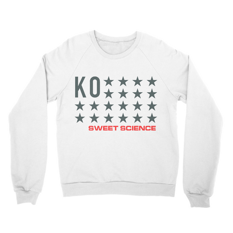 Sweet Science Boxing Men's Sweater: KO Stars - Sweet Science Boxing - 1