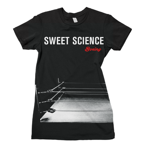 Sweet Science Boxing Women's Tee: The Ring - Sweet Science Boxing