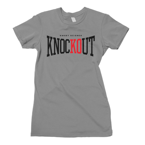 Sweet Science Boxing Women's Tee: Knockout - Sweet Science Boxing - 1