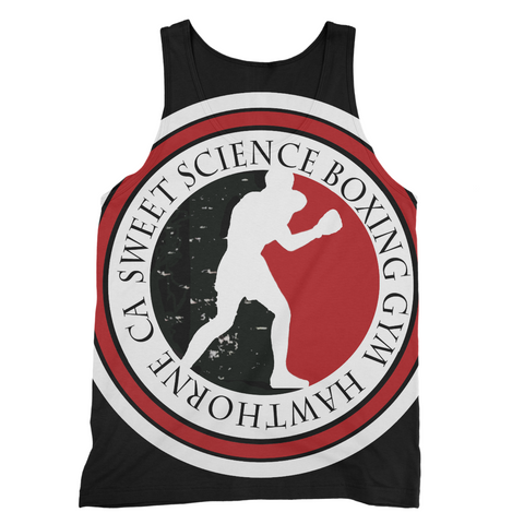 Sweet Science Men's Tank Top: Presidential Seal - Sweet Science Boxing