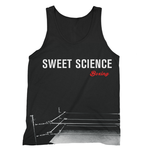 Sweet Science Boxing Men's Tank Top: The Ring - Sweet Science Boxing