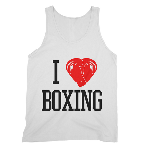 Sweet Science Boxing Men's Tank Top: I Love Boxing - Sweet Science Boxing