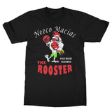 "Neeco Macias ""The Rooster""  T Shirt - Black - Sweet Science Boxing - 2"
