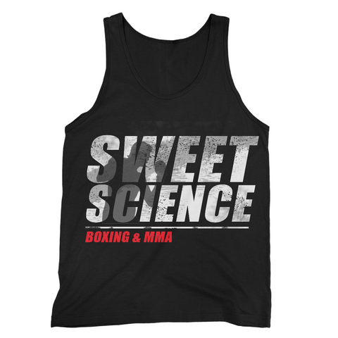Sweet Science Boxing Men's Tank Top: Shadxow Boxer - Sweet Science Boxing