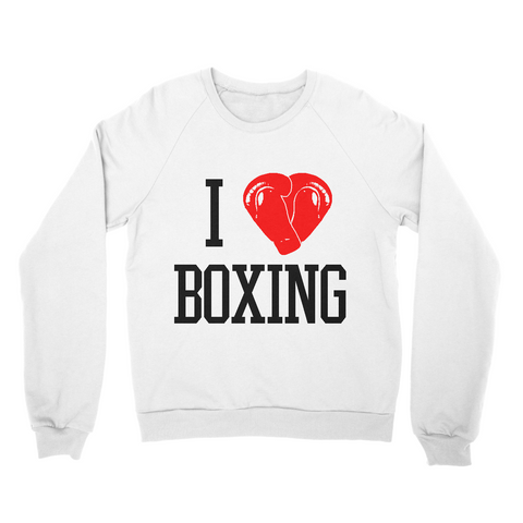 Sweet Science Boxing Men's Sweater: I Love Boxing - Sweet Science Boxing