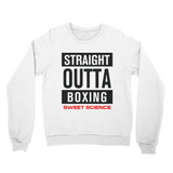 Sweet Science Boxing Men's Sweater: Straight Outta Boxing - Sweet Science Boxing - 1