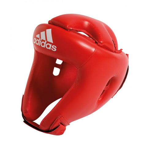 ADIDAS ROOKIE BOXING HEAD GUARD RED
