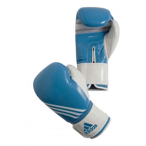 ADIDAS BOXING AERO FITNESS GLOVES BABY BLUE