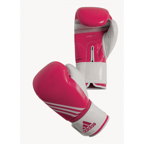 ADIDAS BOXING AERO FITNESS GLOVES PINK
