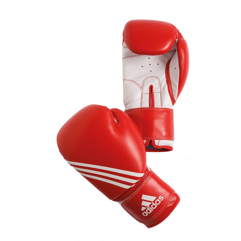 ADIDAS BT BOXING TRAINING GLOVES RED