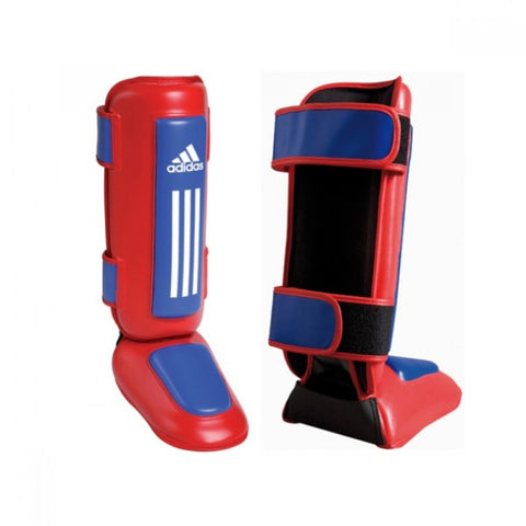 ADIDAS RED THAI SHIN & INSTEP PROTECTORS