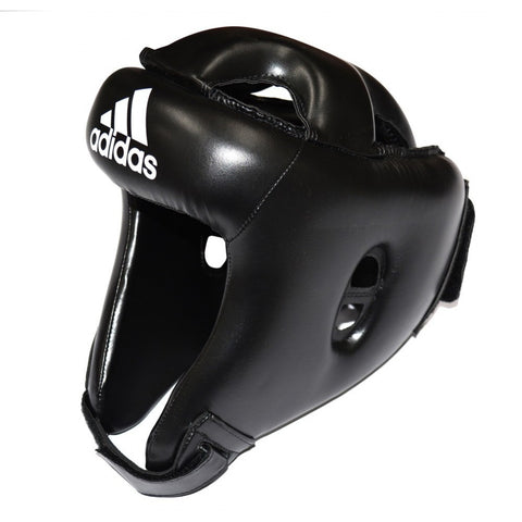 ADIDAS ROOKIE BOXING HEAD GUARD BLACK