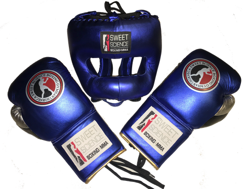 Sweet Science Elite Pro Boxing/Sparring Kit - Blue - Sweet Science Boxing - 1
