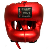 Sweet Science Elite Pro Boxing/Sparring Kit - Red/Gold - Sweet Science Boxing - 4